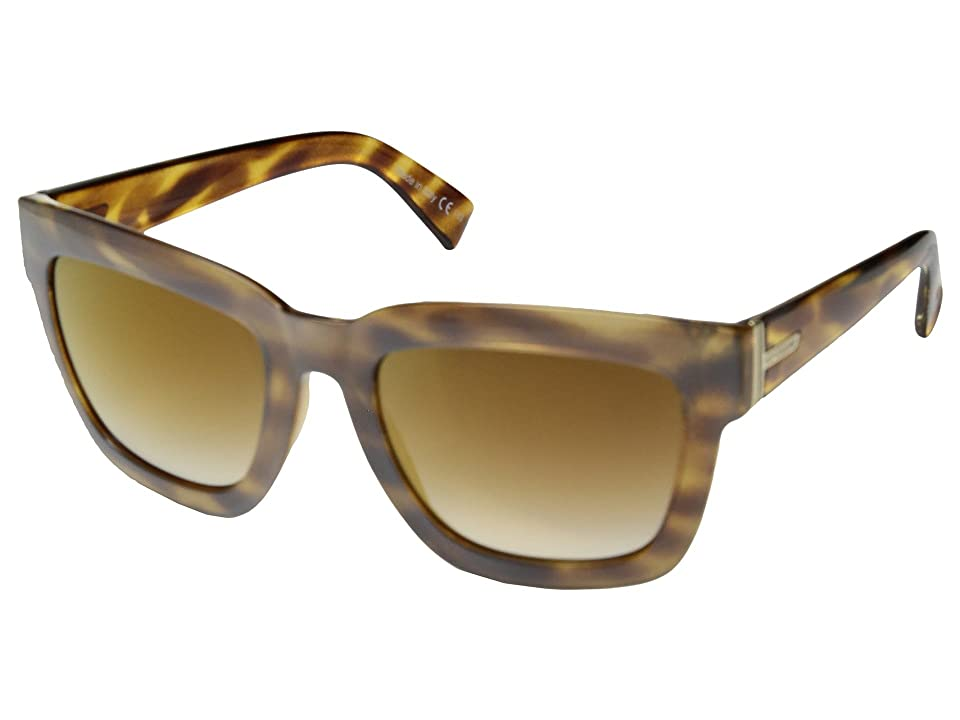 VonZipper Juice (Frosted Tortoise/Gold Chrome Grad) Sport Sunglasses