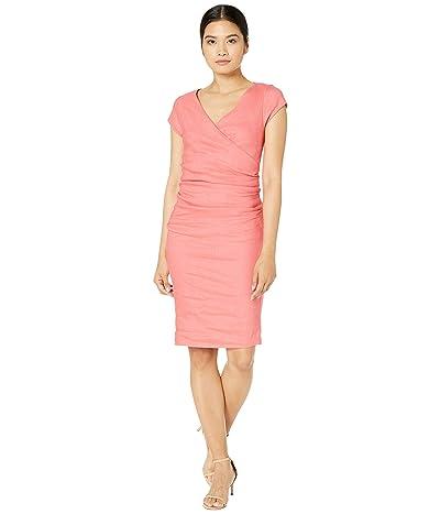 Nicole Miller Linen Beckett Dress (Peonie) Women