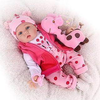 CHAREX Reborn Baby Dolls, 22 inches Newborn Lifelike Soft...