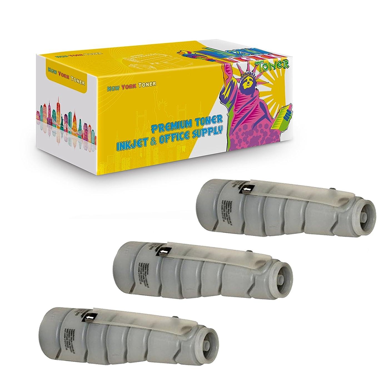 New York TonerTM New Compatible 3 Pack TN311 8938-402 High Yield Toner for Konica-Minolta : BizHub 350 | 362. --Black