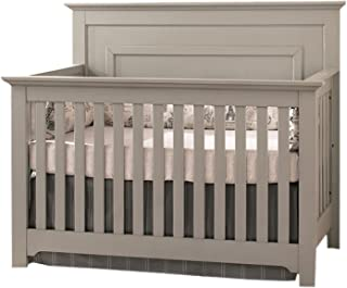 Centennial Chesapeake Full Panel 4 in 1 Convertible Crib Light Grey