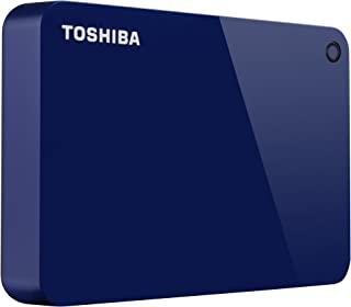 Toshiba Canvio Advance 4TB Portable External Hard Drive USB 3.0, Blue (HDTC940XL3CA)