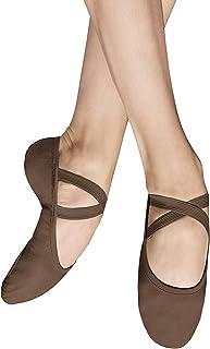 Bloch Dance Men's Performa Stretch Canvas Split Sole Ballet Shoe/Slipper