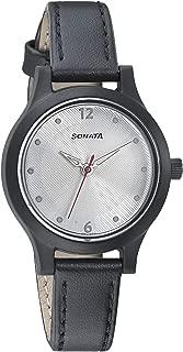 Sonata Essentials Analog Silver Dial Women's Watch-87030PL03