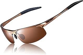 Men's Fashion Driving Polarized Sports Sunglasses for Men Al-Mg Metal Frame Ultra Light