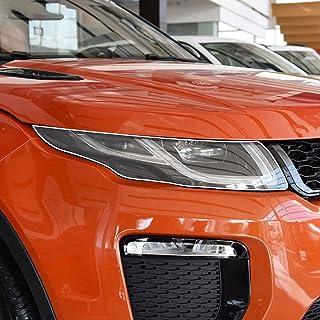 NCUIXZH2 peças de filme protetor de farol de carro adesivo TPU transparente, para Land Rover Discovery Sport Range Rover ...