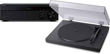 Sony PS-LX310BT Belt Drive Turntable: Fully Automatic Wireless Vinyl Record Player with STRDH190 2-ch Stereo Receiver with...