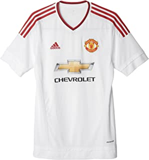adidas Manchester United FC Away Jersey [White/REARED]