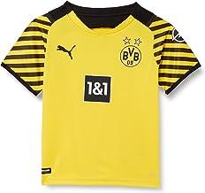 PUMA Unisex kinderen Bvb Home Shirt Replica Ss Jr W Sponsor Shirt