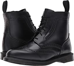 Delphine 6-Eye Brogue Boot