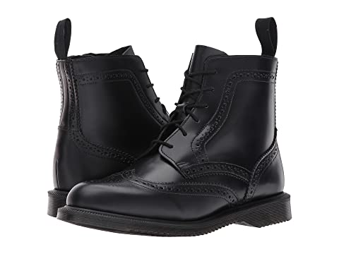 b271f65ffc0 Dr. Martens Delphine 6-Eye Brogue Boot at Zappos.com