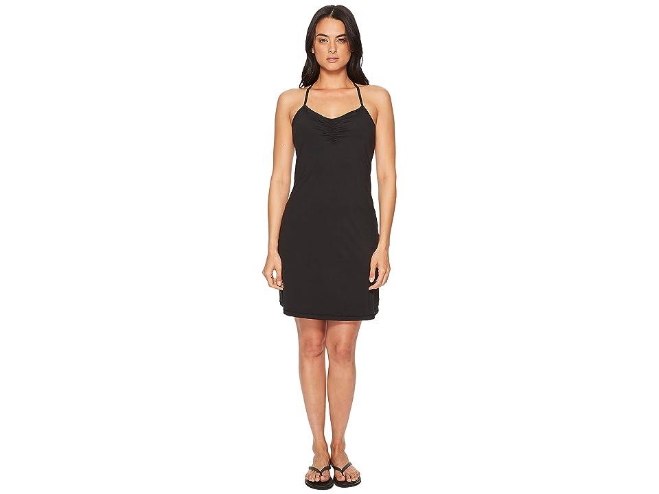 Prana Elixir Dress (Black) Women