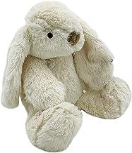 Pluizige konijn ontwerp nieuwigheid deurstop/deurstop (crème pluizig konijn)