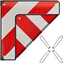 Auto einseitig rechtsabweisend f/ür Trecker Wohnmobil Wohnwagen rot//wei/ß Warntafel Warnschild reflektierend Traktor