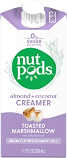 NUTPODS Toasted Marshmallow Unsweetened Dairy Free Creamer, 11.2 FZ