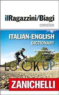 dizionario inglese italiano zanichelli