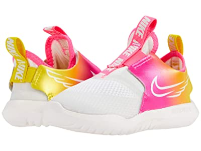Nike Kids Flex Runner Sun (Infant/Toddler) (Platinum Tint/Summit White/Hyper Pink) Girl