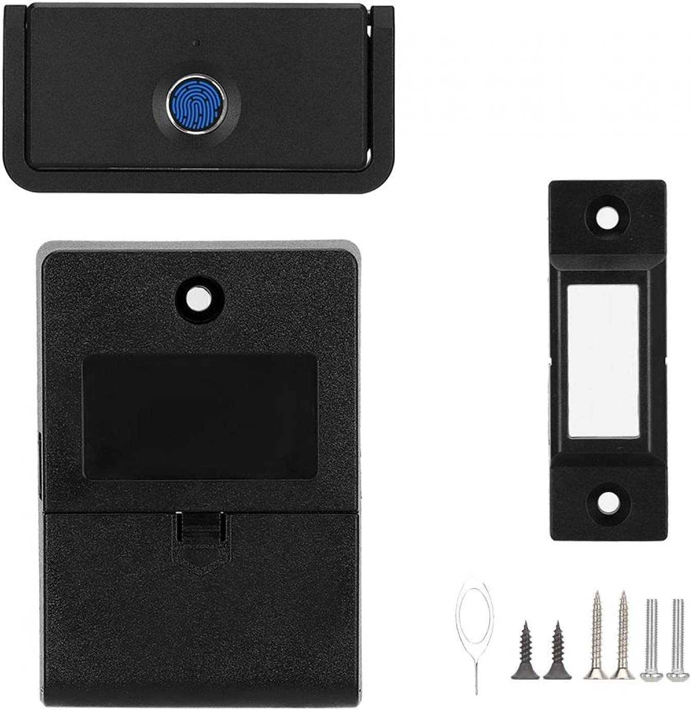 New Free Shipping Fingerprint Lock Smart Max 64% OFF USB Charging Door Automatic Port Lo
