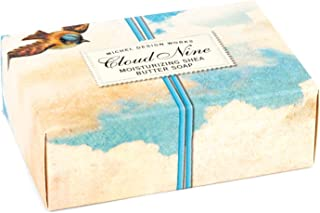 Michel Design Works 4.5oz Boxed Single Shea Butter Soap, Cloud Nine