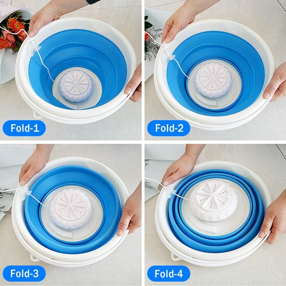 Appliances Portable Mini Washing Machine with Foldable Tub,Folding ...