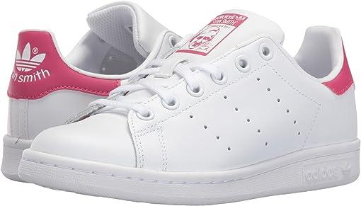 White/White/Bold Pink