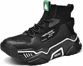 SANNAX Herren Sneaker Joggingschuhe Laufschuhe Turnschuhe Atmungsaktiv Leichte Modisch Fitness Sportschuhe Outdoor