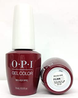 New Look GELCOLOR SOAK OFF GEL NAIL POLISH 0.5 OZ MALAGA WINE GC L87 New and Genuine