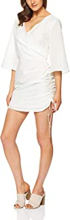 THIRD FORM Women's Straight Out Crossover Dress, White