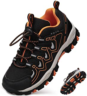 UOVO پسران کفش ها پسران کت و شلوار کتانی تنیس کفش پیاده روی کودکان و نوجوانان Athletic مد در فضای باز مد کفش های مقاوم در برابر لغزش (کودک نو پا / پسران کوچک)