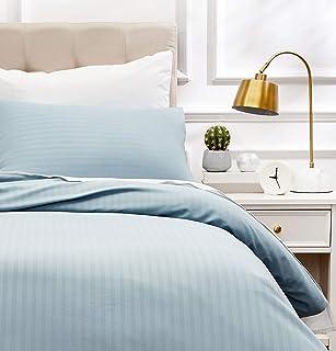AmazonBasics - Juego de ropa de cama con funda nórdica de