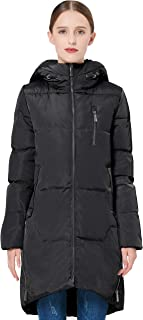 Orolay Women's Stylish Thickened Down Jacket Hooded Coat Winter Coat