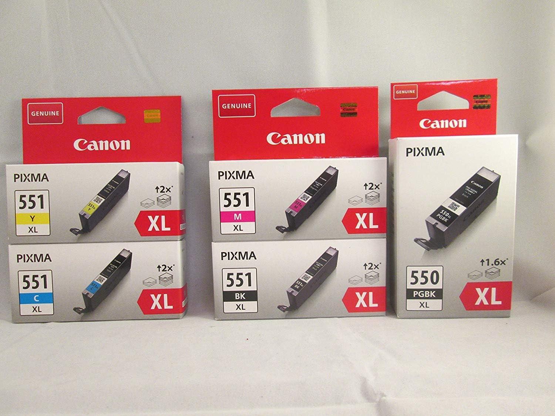 Canon Cli 551xl Bundle Bürobedarf Schreibwaren