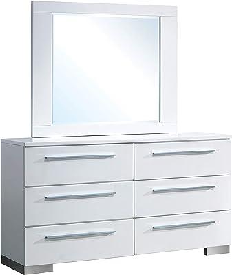 Amazon.com: Tvilum 71200 CJ Aurora 5 cajones, trufa: Kitchen ...