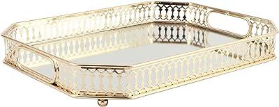 ドレッサー香水スキンケアトレイ、ミラージュエリーディスプレイラックトレイ装飾収納ミラージュエリートレイ結婚式の家の装飾