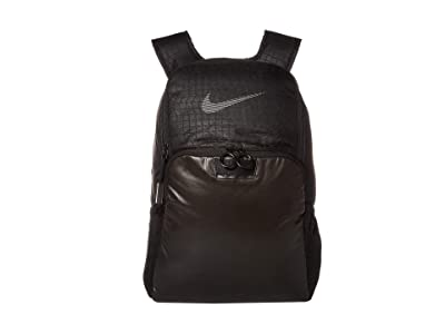 Nike Brasilia Backpack Winterized (Black/Black/Reflective) Backpack Bags