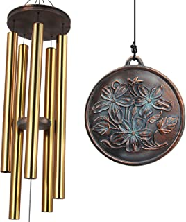 ASTARIN Wind Chimes Outdoor Large Deep Tone, 48-Inch Tuned Wind Chimes, Memorial Wind Chimes as Sympathy Gifts, Outdoor De...
