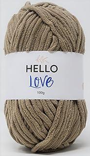 HELLO LOVE Yarn, Biscuit, 100g