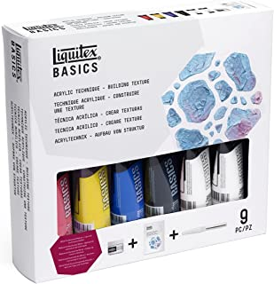 Liquitex BASICS Acrylic Paint Technique Set - Building Texture