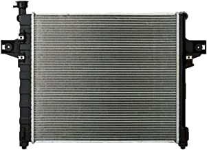 Automatic Transmission Complete Radiator,for 2001-2004 Jeep Grand Cherokee 4.7L V8 with Oil Cooler