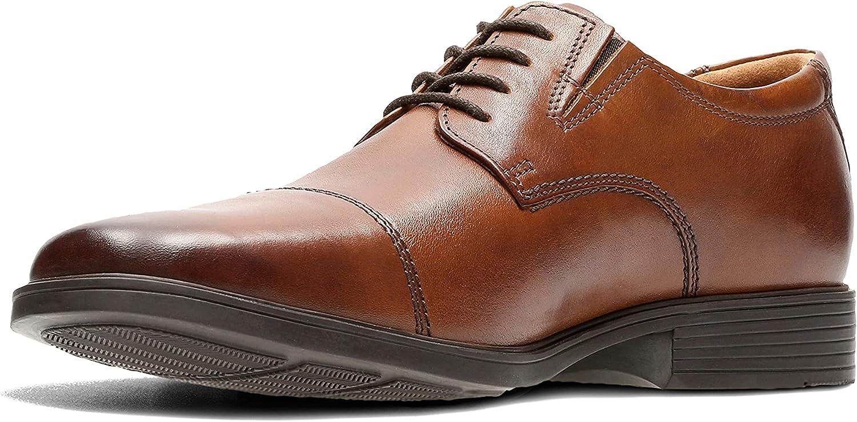 交換無料 スーパーSALE セール期間限定 Clarks Men's Tilden Shoe Cap Oxford