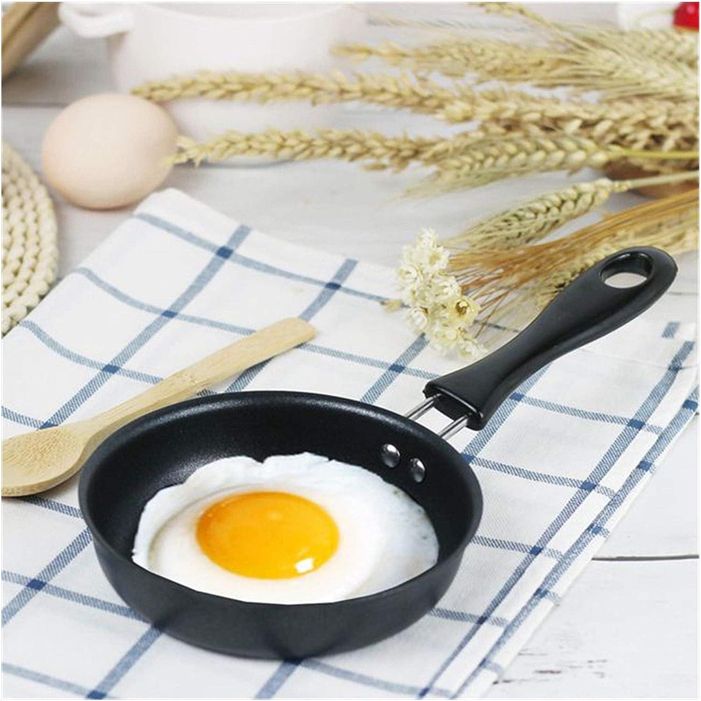 ZLJ Marmite à Soupe Marmite avec Couvercle Antiadhésive Friture Sauce à Fond épaissieHousehold Egg Fried Egg Pancake Durable Cooking Pot for Home Kitchen 5 Sizes (Color: 16cm) 18cm