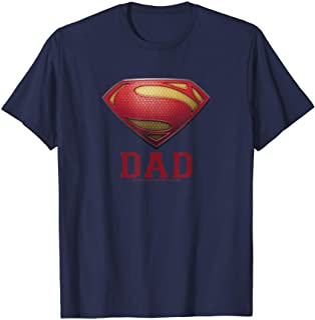 Superman Man of Steel Dad of Steel T-Shirt