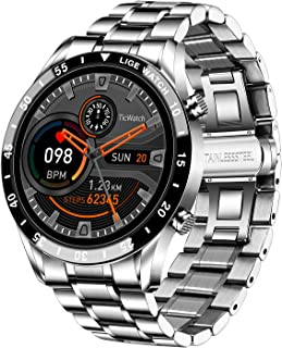 """Mens Smart Watch, Fitness Tracker 1.3"""" Full Touch Screen IP67 Waterproof with Call Message..."""