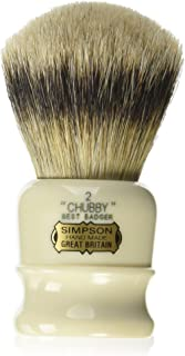 Chubby 2 Best Badger Shave Brush shave brush by Simpson
