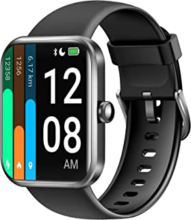 LETSCOM Smart Watch for Android Phones Compatible with iPhone, 1.69 Inch Touch Screen, Alexa...