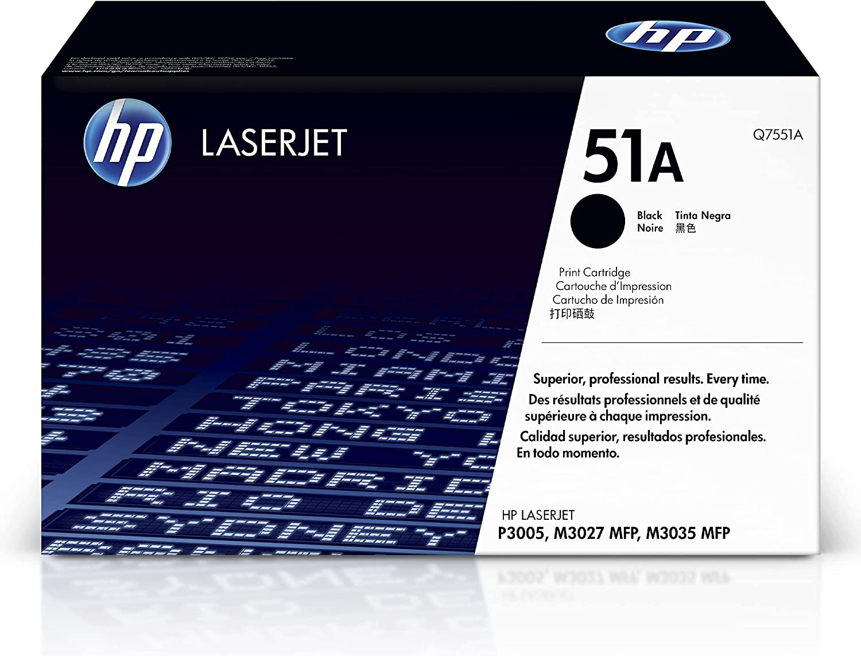 HP 51A | Q7551A | Toner-Cartridge | Black
