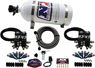 Nitrous Express 90101-10 Easy Street Direct Port Nitrous System 8 Cylinder w/10 Lb. Bottle Requires Drilling/Tapping The Intake Manifold Easy Street Direct Port Nitrous System
