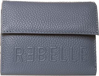 REBELLE PORTAFOGLIO PATTA PELLE DOLLARO SMALL CARTA DA ZUCCHERO 11X10X3 cm