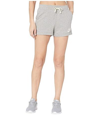 Nike NSW Gym Vintage Shorts (Dark Grey Heather/Sail) Women