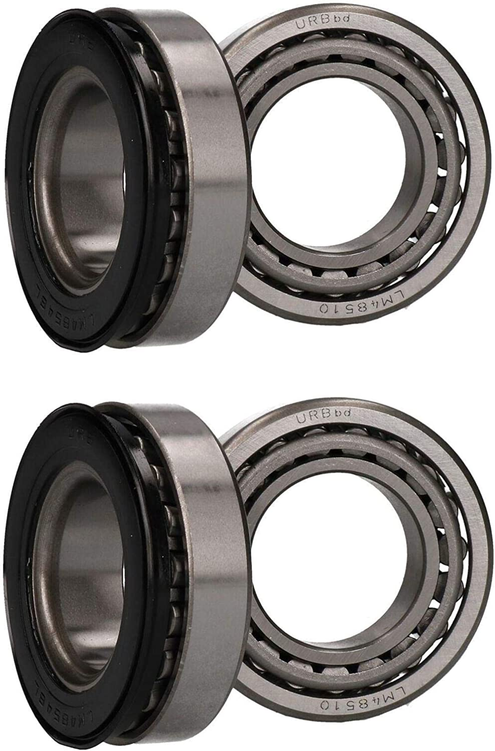 Seattle Mall 2 x Wheel outlet Bearing Kit for Indespension Braked Trailers Boat Sing